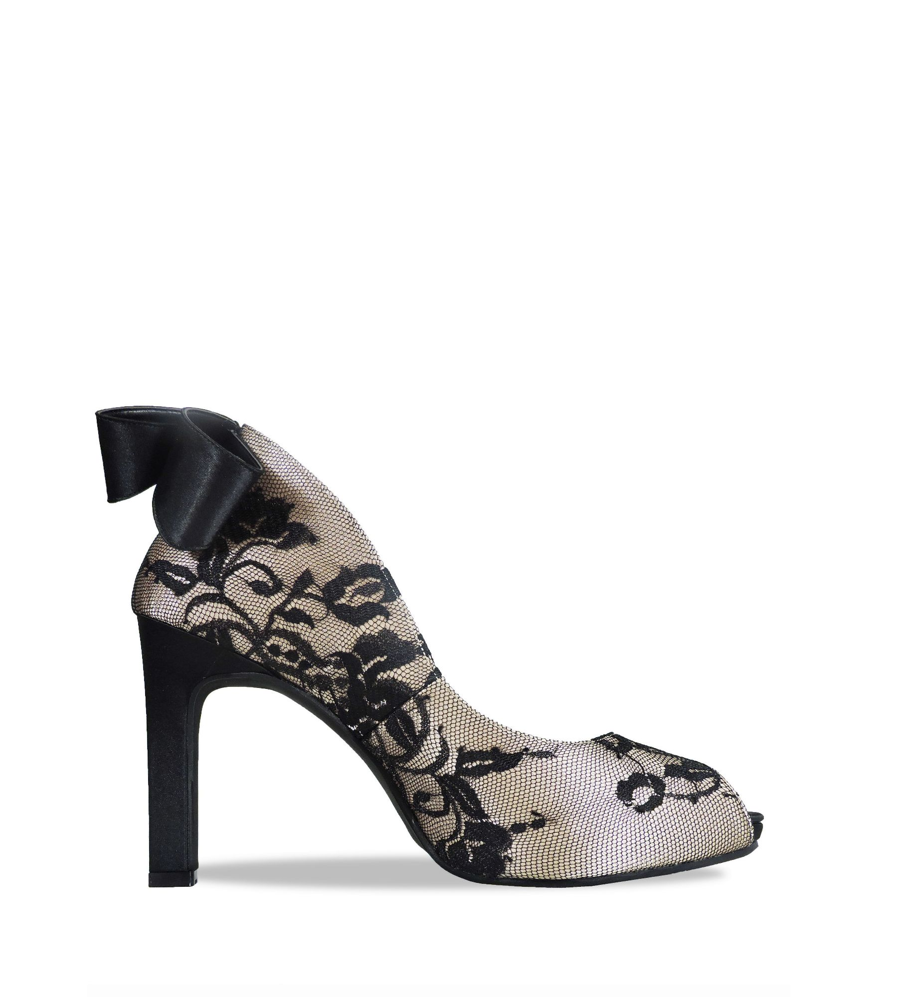 jacquelee royal wedding black heel